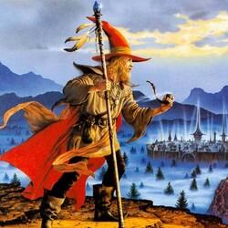 Пазл онлайн: Бродячий волшебник
