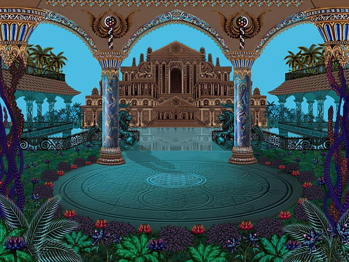 картинка королевский дворец сказочный прооперироваться