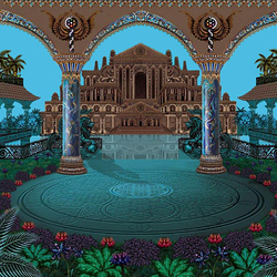 Пазл онлайн: Сказочный дворец