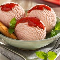 Пазл онлайн: Шарики мороженого