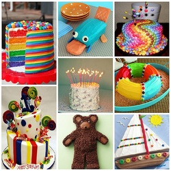 Пазл онлайн: Тортики для детей