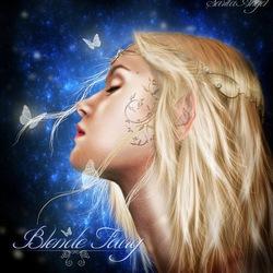 Пазл онлайн: Светловолосая фея
