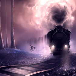 Пазл онлайн: Ежедневный поезд