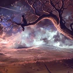 Пазл онлайн: Шрамы в небе