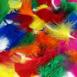 Пазл онлайн: Плюмаж из перьев