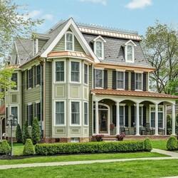 Пазл онлайн: Дом в Вашингтоне