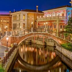 Пазл онлайн: Тихая ночь в Венеции