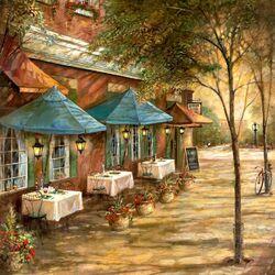 Пазл онлайн: Маленький ресторанчик