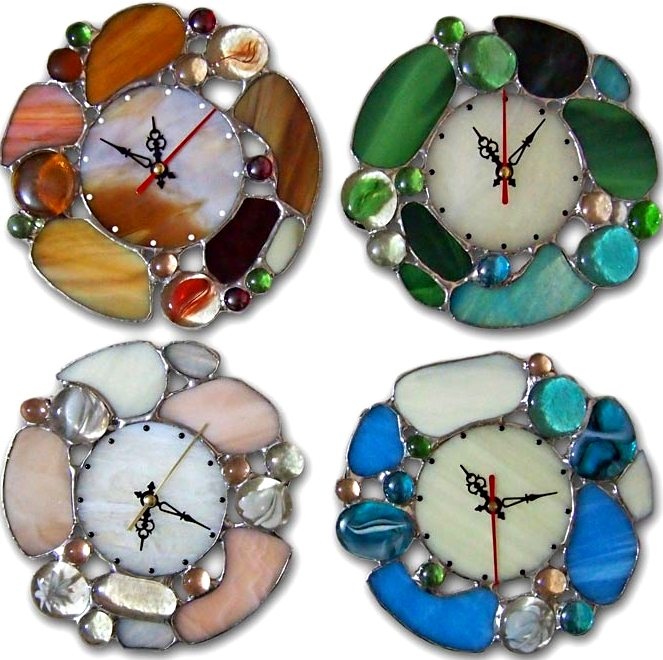 Поделки из цветных камней <i>поделки</i> стеклянных