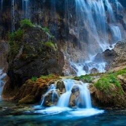 Пазл онлайн: Водопад Нуорилан