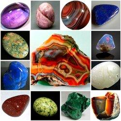 Пазл онлайн: Камни-минералы