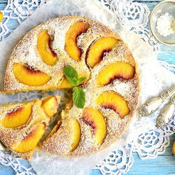Пазл онлайн: Нежный пирог