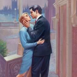 Пазл онлайн: Прощальный поцелуй