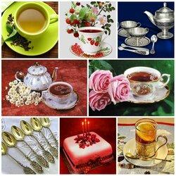 Пазл онлайн: Чайное разнообразие