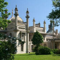 Пазл онлайн: Королевский павильон в Брайтоне