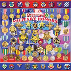 Пазл онлайн: Американские военные награды
