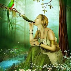 Пазл онлайн: Волшебная песня