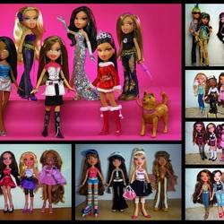 Пазл онлайн: Bratz куклы
