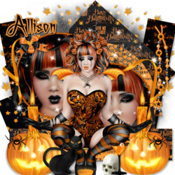 Пазл онлайн: Счастливого Хэллоуина
