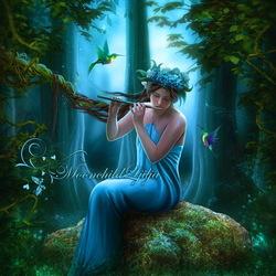 Пазл онлайн: Магия леса