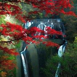 Пазл онлайн: Водопад Фукурода