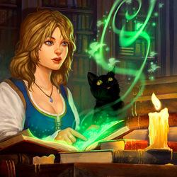 Пазл онлайн: Становление волшебницы