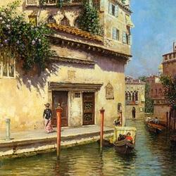 Пазл онлайн: Старая Венеция