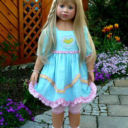 Пазл онлайн: Кукла Иден