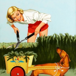 Пазл онлайн: Садовые работы