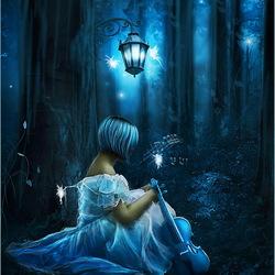 Пазл онлайн: Песня в ночи