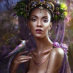 Пазл онлайн: Принцесса джунглей
