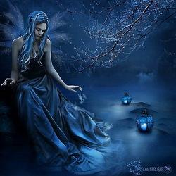 Пазл онлайн: Синяя дымка