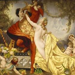 Пазл онлайн: Тангейзер и Венера
