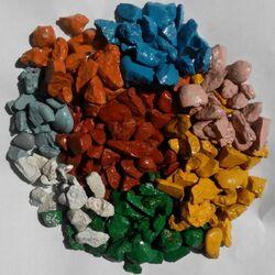 Пазл онлайн: Цветной щебень