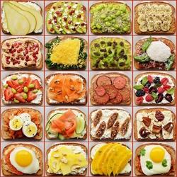 Пазл онлайн: Сэндвичи