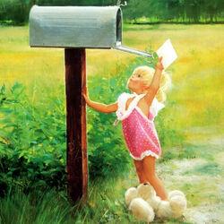 Пазл онлайн: Письмо