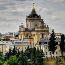 Пазл онлайн: Архикафедральный собор Святого Юра