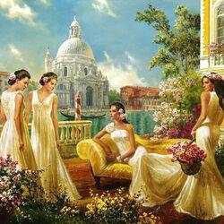 Пазл онлайн: Весеннее цветение