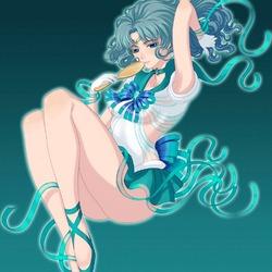 Пазл онлайн: Сейлор Нептун