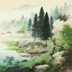 Пазл онлайн: Деревенская жизнь