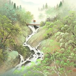 Пазл онлайн: Через бурную реку
