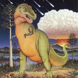 Пазл онлайн: Тиранозаврус