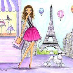 Пазл онлайн: Парижские каникулы