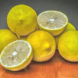 Пазл онлайн: Лимоны