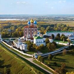Пазл онлайн: Рязанский Кремль