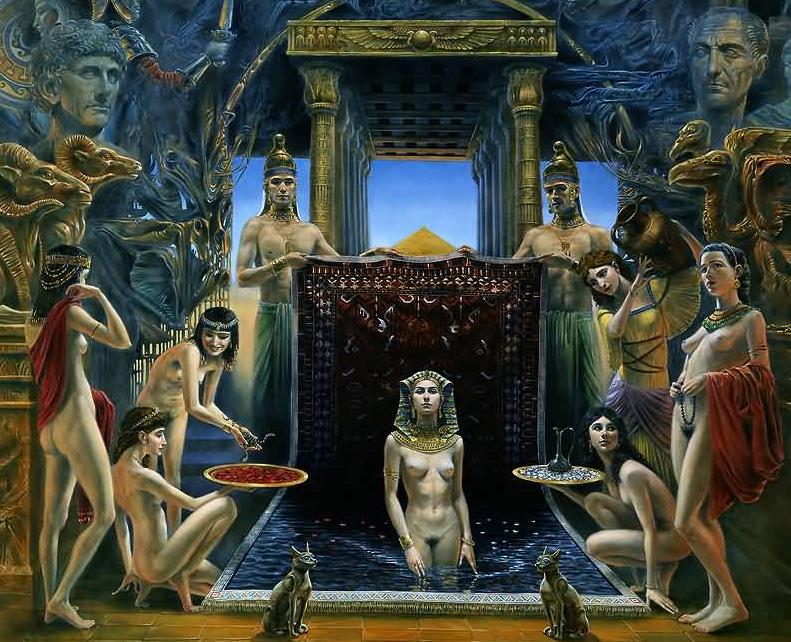 analysis cleopatra s life