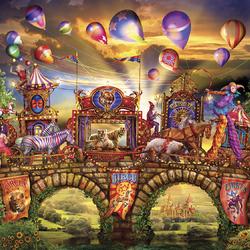 Пазл онлайн: Карнавальное шествие