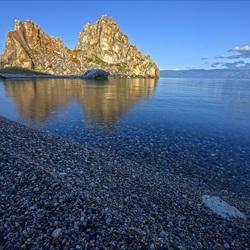 Пазл онлайн: Рассвет на берегу