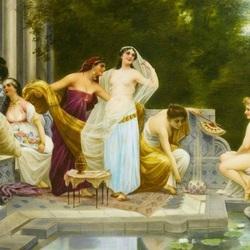 Пазл онлайн: У купальни