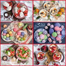 Пазл онлайн: Десерты